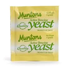 Muntons Homebrewing Yeast 6 grm