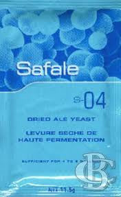 Safale S-04 Yeast