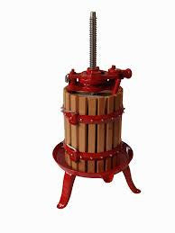Torchio Wooden Fruit Press 11 Litre Capacity