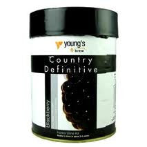 Youngs Country Definitive Blackberry 6 bottle
