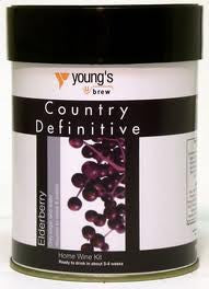 Youngs Country Definitive Elderberry 6 bottle