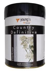 Youngs Country Definitive Elderflower 6 bottle