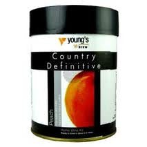 Youngs Country Definitive Peach 6 bottle