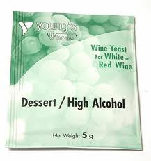 Dessert High Alcohol Yeast