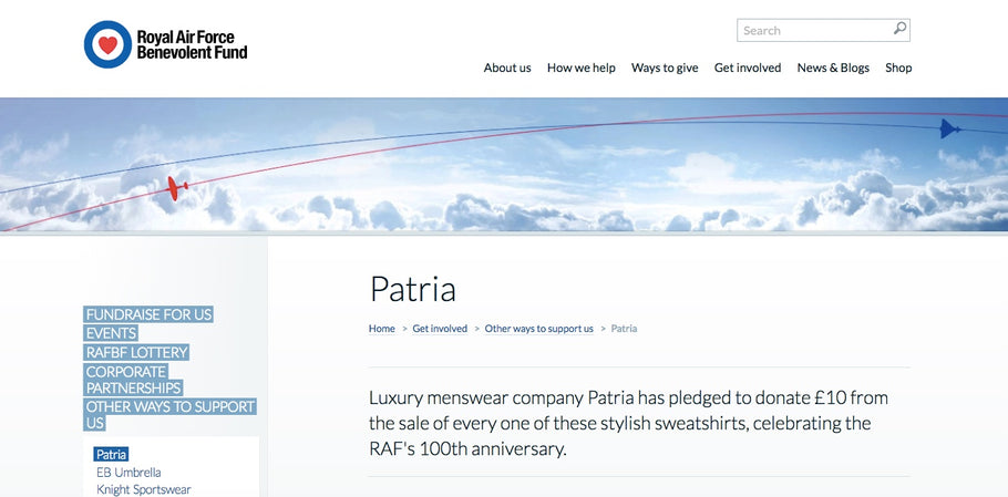 Patria on the RAFBF