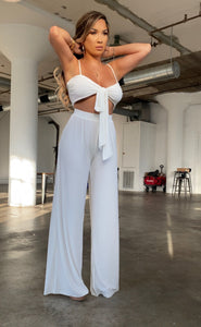 Blair pant set (white)