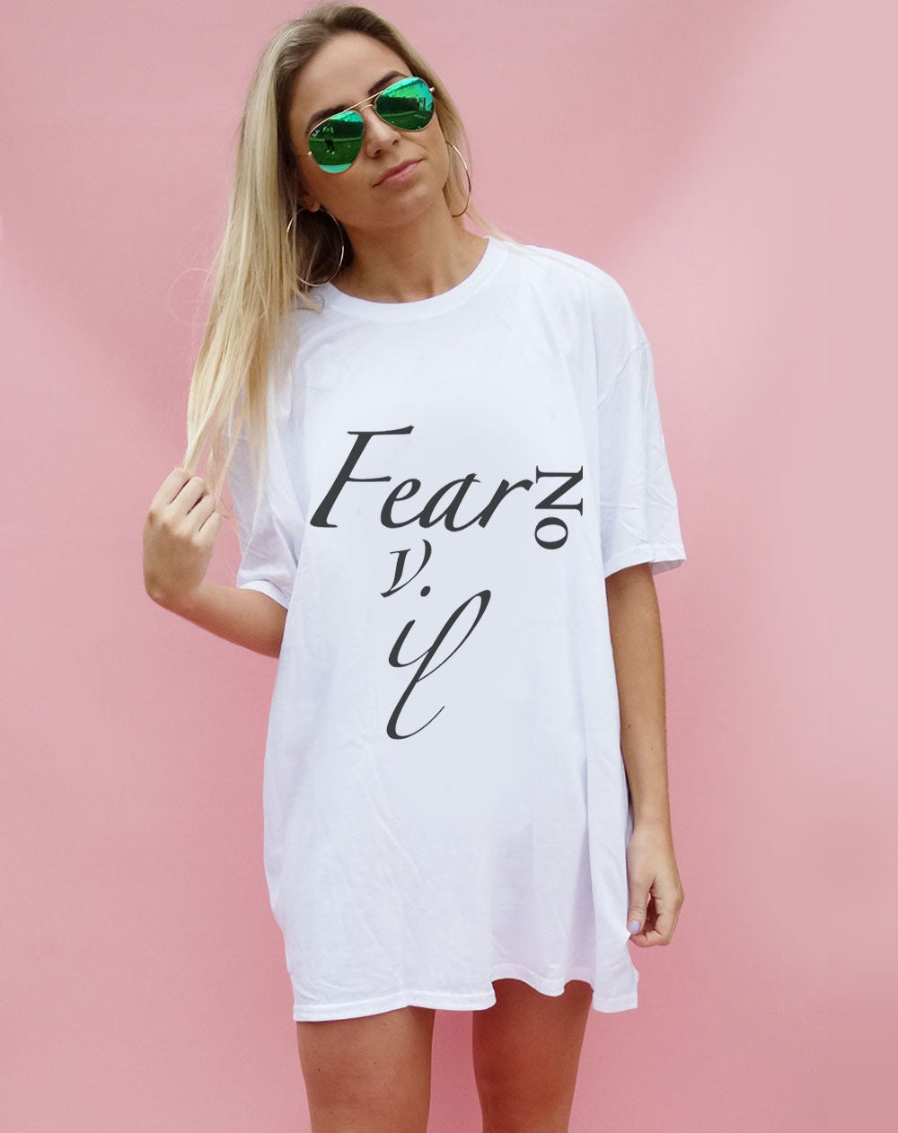 Fear No Evil Oversized T-shirt