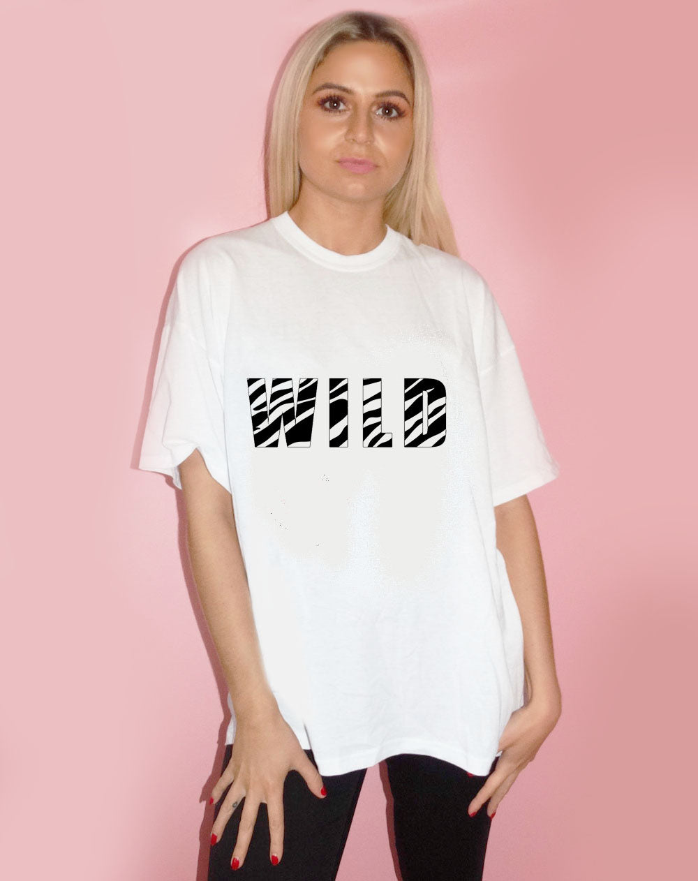 Zebra Wild Graphic Tee