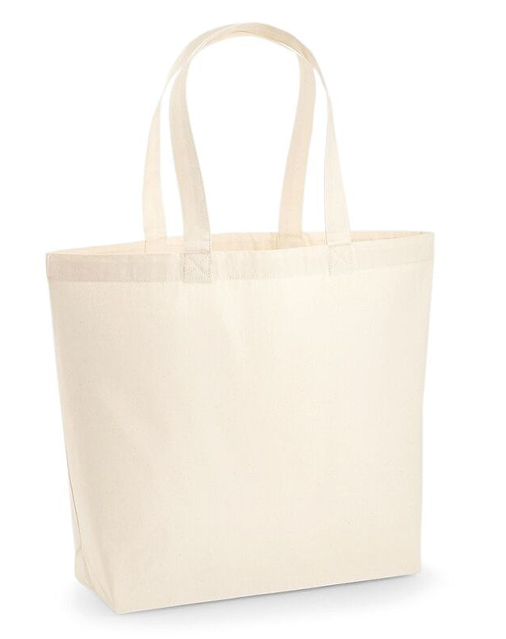 Independent woman lip tote bag in cream