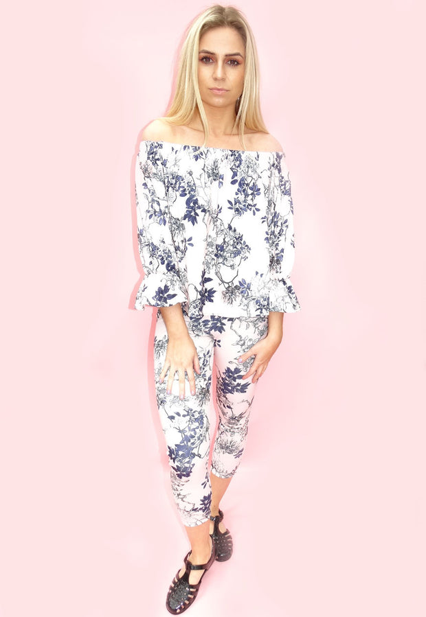 Pink Floral Print Co-ordinates