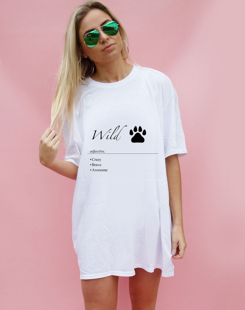 Wild Definition oversize Tshirt