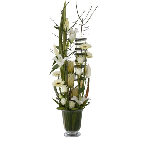 Serenity - ARRANGEMENT - (deep vase)