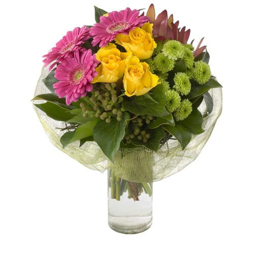 Sassy - MIXED ARRANGEMENT - (vase included)