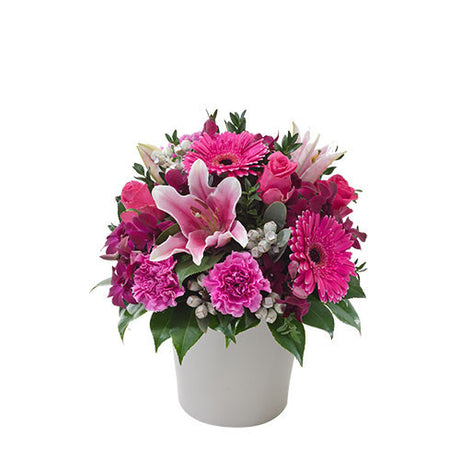 BERRY DELIGHT - Flower Arrangement in Ceramic Container