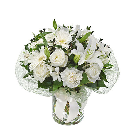 Bianca  Elegant Bouquet (vase not included)