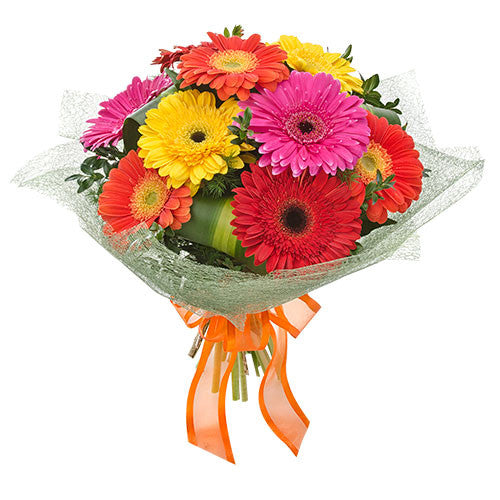 Carnivale  Bouquet of Mixed Gerberas - 20 stems