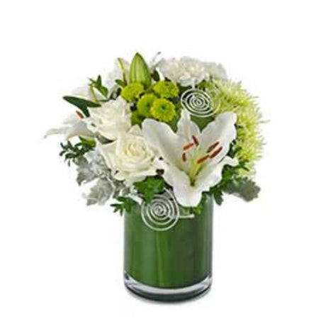 Diamond - Mixed Arrangement in Glass Vase