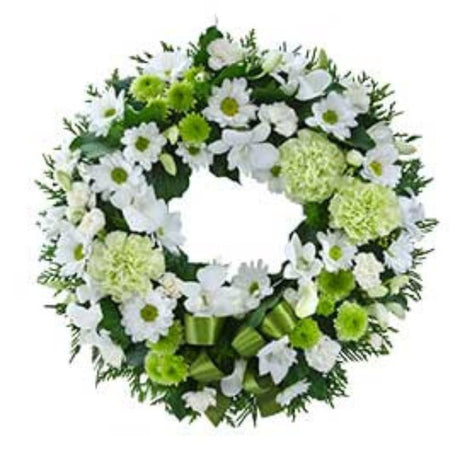 Eternity  Cluster Wreath Suitable for Service