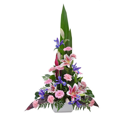 Executive - Large Mixed Arrangement in a Ceramic Container