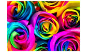 RAINBOW ROSES delivered in Sydney VALENTINES DAY