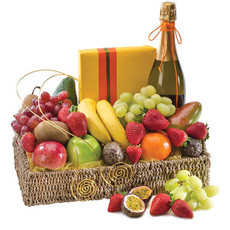 So Special - FRUIT / WINE & CHOCOLATES HAMPER - (basket)