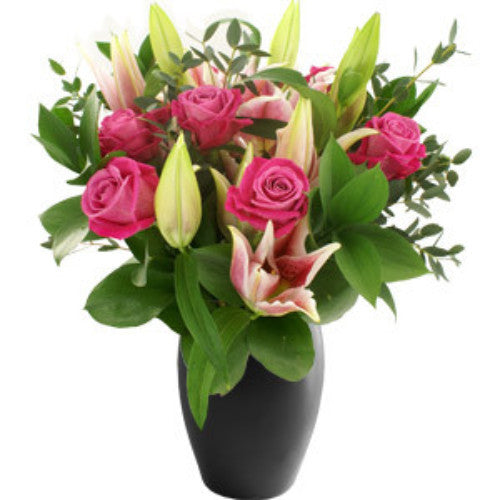 Roses & Lilies Bouquet - MIX IT UP
