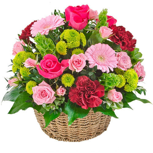 FLOURISH - MODERN BASKET ARRANGEMENT