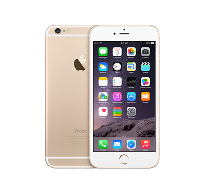 IPHONE 6 PLUS 64GB GOLD (LIKE NEW)
