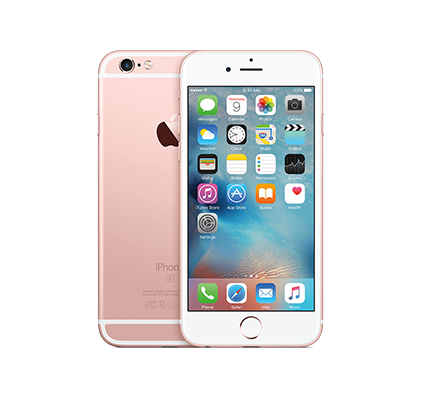IPHONE 6S 128GB ROSE GOLD ( LIKE NEW )