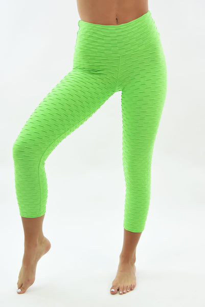 Ana Ruga Light Green Capri