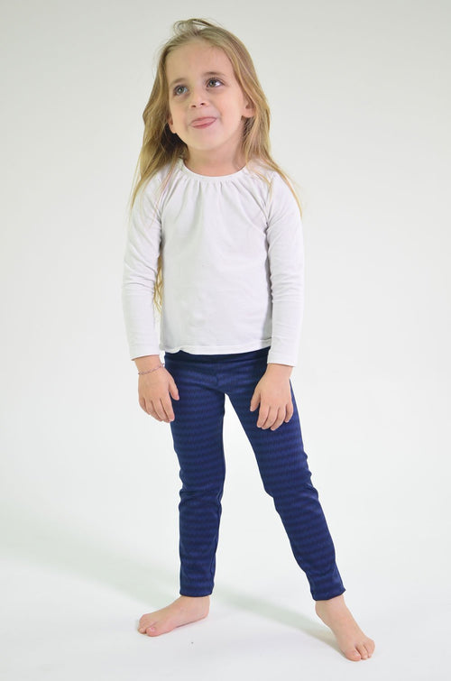 Mini-me Navy Oregon Legging