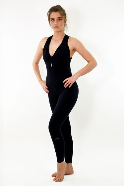 RIO GYM Noa  Jumpsuit - Black yoga wear for women