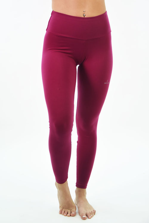 RIO GYM Basic Bordeaux  Legging yoga wear for women