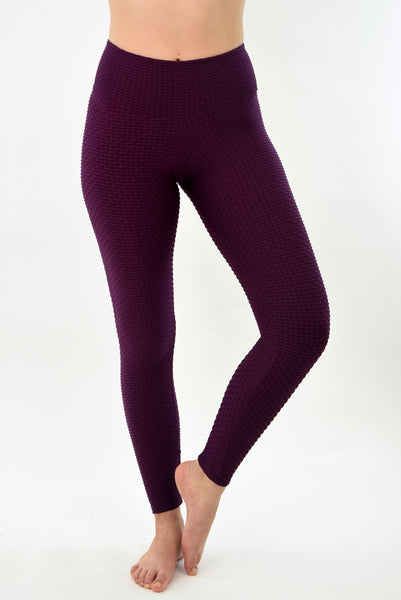 RIO GYM New Ana Ruga Bordeaux Legging yoga wear for women