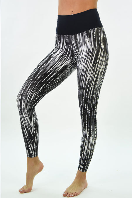 Ana Ruga Gold Shiny Legging