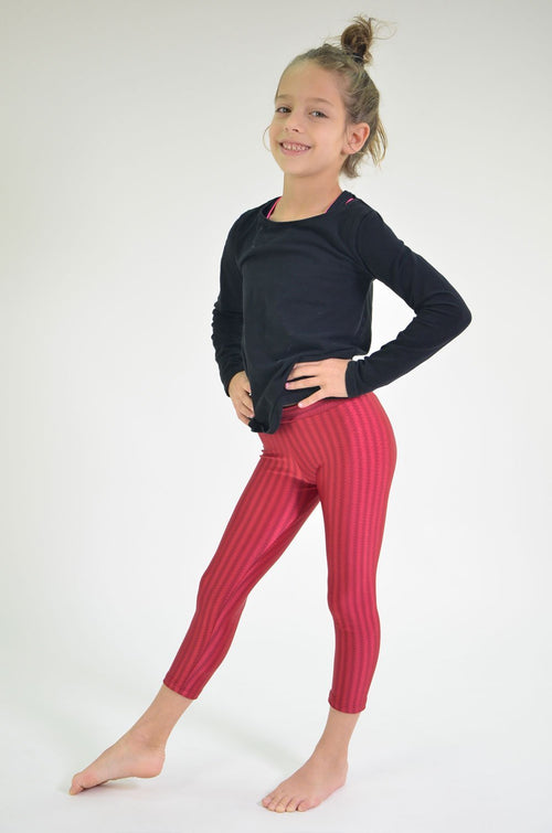 RIO GYM Mini-me Bordeaux Oregon Legging yoga wear for women