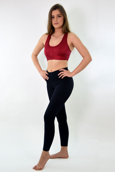 RIO GYM Dotz Black Legging yoga wear for women