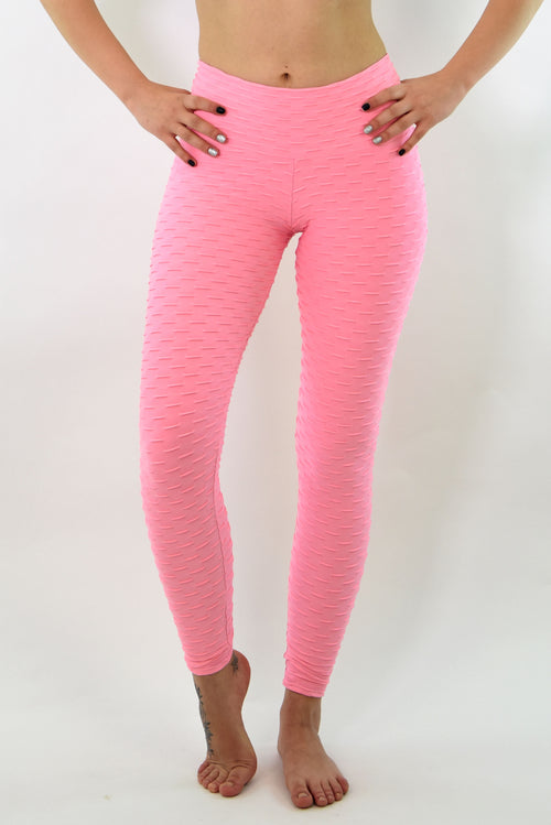 RIO GYM Ana Ruga Baby Pink Legging yoga wear for women