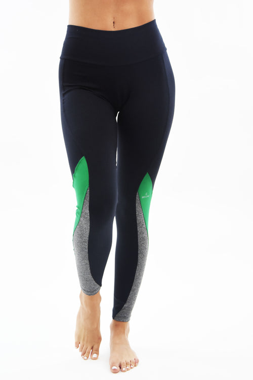 RIO GYM Cecilia Legging Green yoga wear for women
