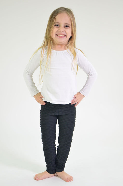 Mini-me Black Ana Ruga Legging