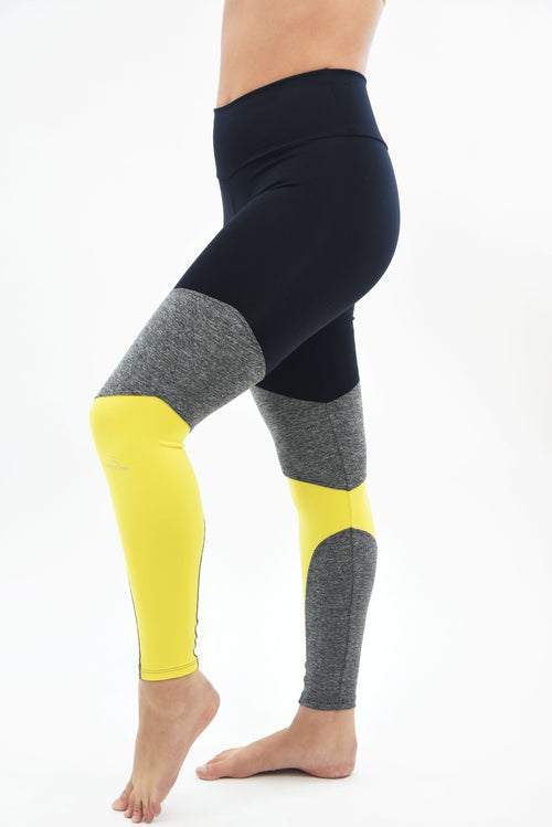 RIO GYM Talita Legging Yellow yoga wear for women