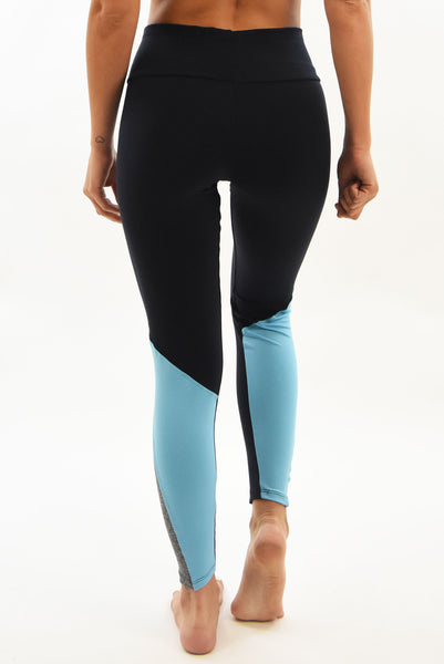 RIO GYM Cecilia Legging Blue yoga wear for women