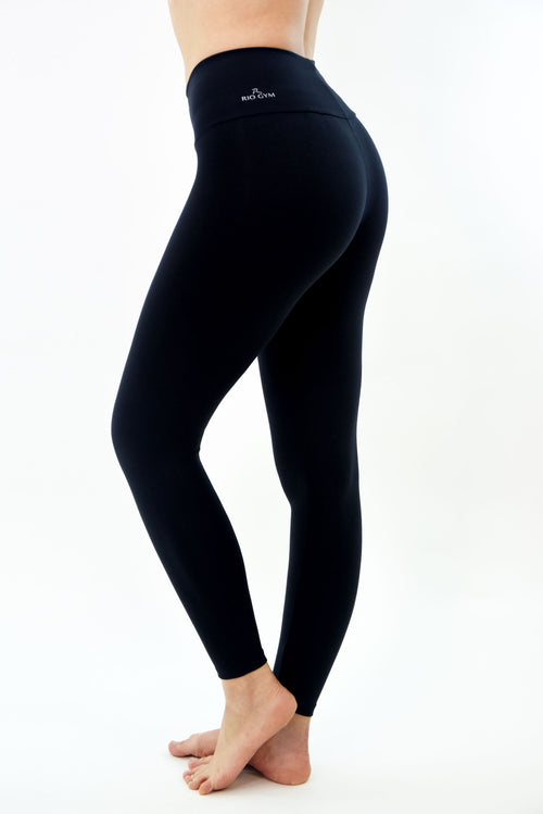 RIO GYM Basic Black Legging yoga wear for women
