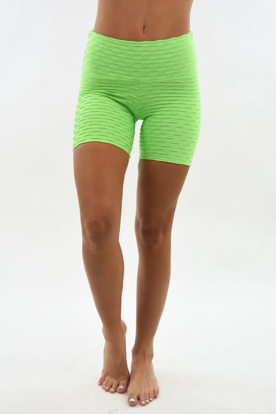 RIO GYM Ana Ruga Shorts - Ligth Green yoga wear for women