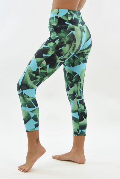 RIO GYM Tropic Capri yoga wear for women