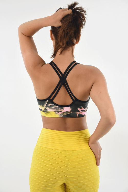 RIO GYM Lagoa Bra -Patricia yoga wear for women