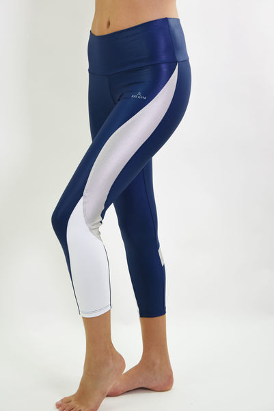 RIO GYM Nadia Navy  Capri yoga wear for women