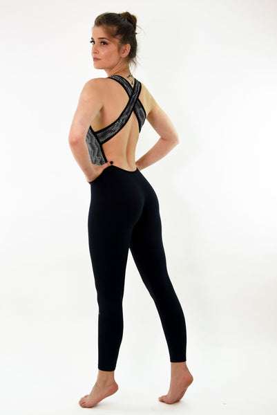 Jenny Jumpsuit - Black & White