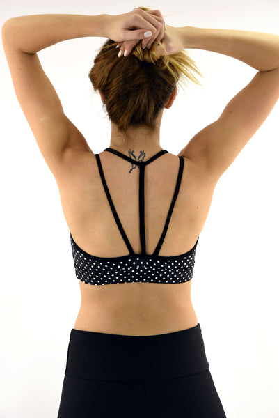 RIO GYM Lux Bra -  Dots yoga wear for women