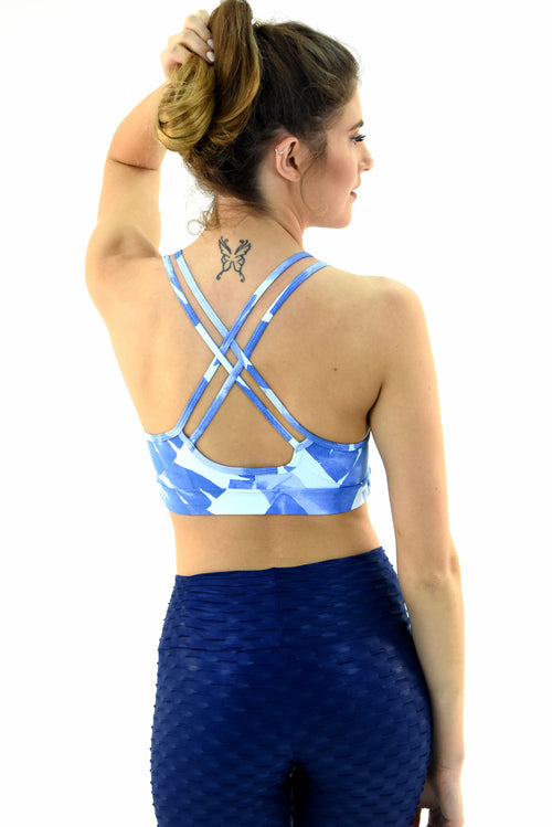 RIO GYM Lagoa Bra - Julia yoga wear for women